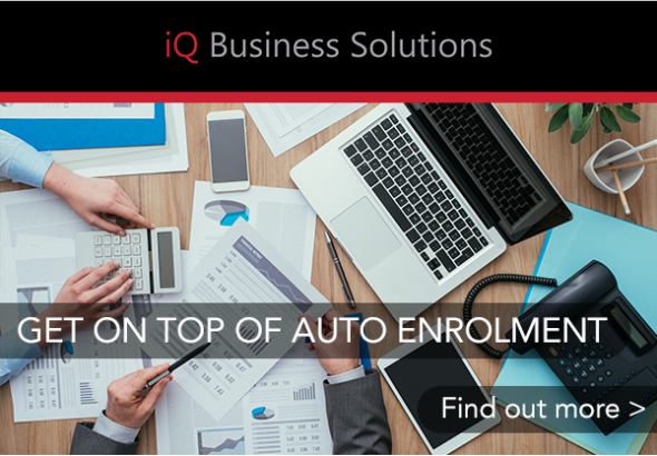 Get on top of auto-enrolment with iQ Business Solutions